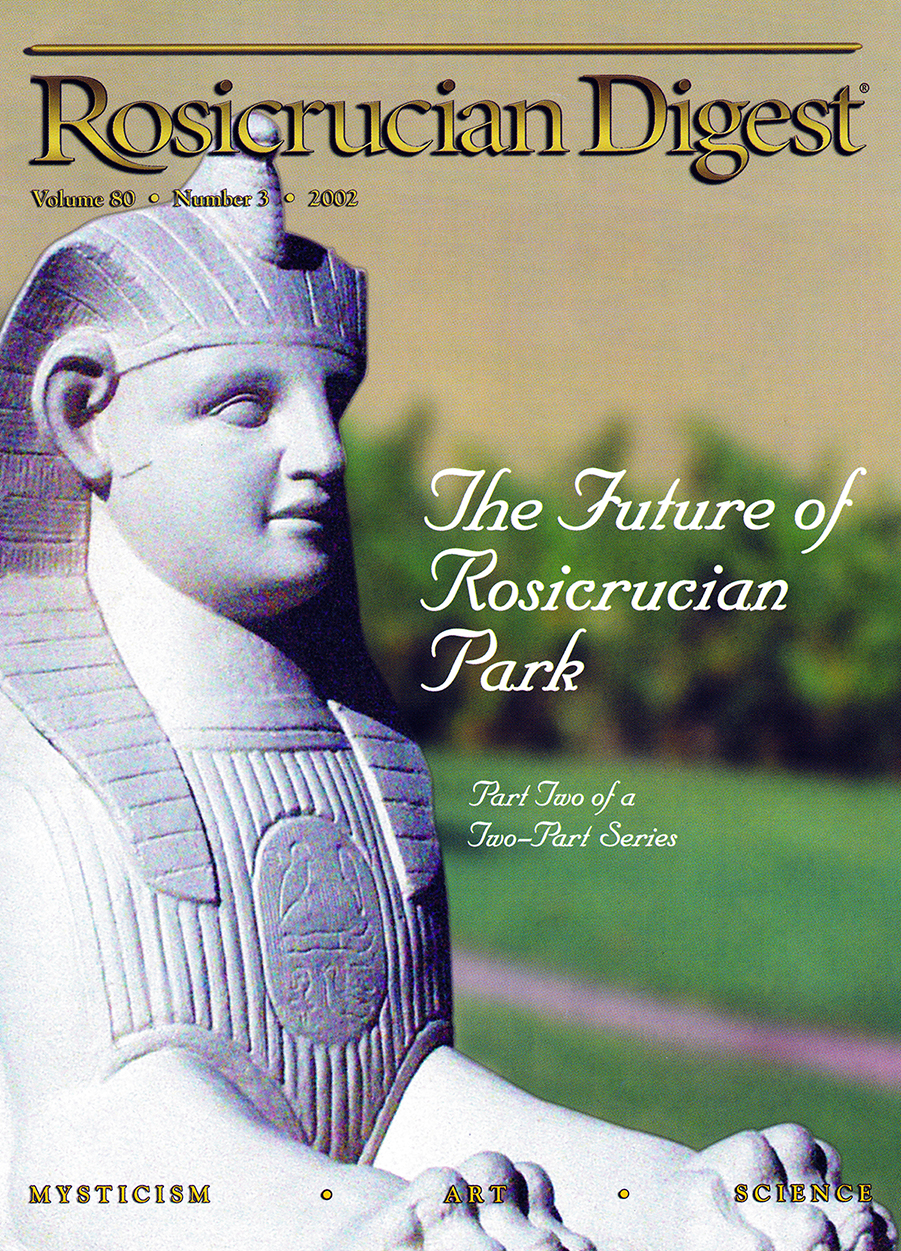 Digest 2002 Cover Future Of Rosicrucian Park