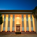 Rosicrucian Grand Temple at Night